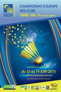 Affiche Championnat d'Europe à Tours