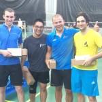 Bastien, Phuong  - 2èmes + Morgan et Simon - 1ers