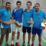 Florian et Jules - 1ers, entourés de Florent et Romuald, finalistes