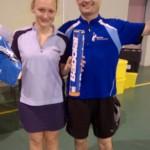 Elise et Jean-Baptiste champions